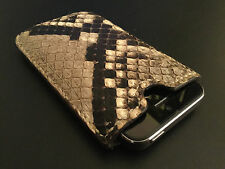 Luxury Custom Genuine Snakeskin Iphone 5s/4s Case Rare!!!  Collectible!!!