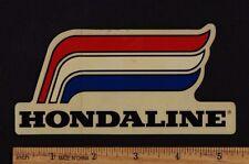 HONDALINE HONDA MOTORCYCLE STICKER Decal Vintage Motocross Motorcycle CB750 XR75
