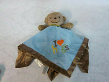 """Carter's Just One You Lovey Monkey Rattle 12"""" Plush Soft Toy Stuffed Animal"""