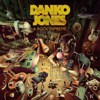DANKO JONES - A Rock Supreme - Gatefold-Neon-Orange-Vinyl-LP - 884860257916