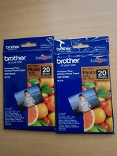BRAND NEW BROTHER GLOSSY PHOTO PAPER 20 SHEETS