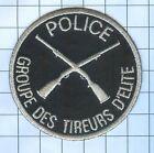 International Police Patch - POLICE GROUPE DES TIREURS D'ELITE