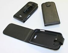 Telstra ZTE T83 Dave Leather Flip Case with Belt Clip