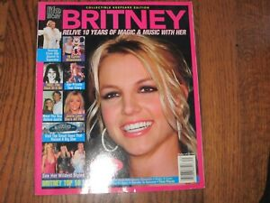 BRITNEY SPEARS Life Story Magazine 2003 (RARE) Collectible Keepsake Edition