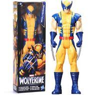 MARVEL X-Men - Figura de Acción Lobezno tamaño: 30 cm. Titan Wolverine figure