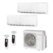 HANTECH Multi Split Klimaanlage 28000 BTU 2x Innen 12000+18000 Wifi - Modell GWH