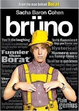 Brüno (DVD, 2009) Sacha Baron Cohen WORLD SHIP AVAIL!