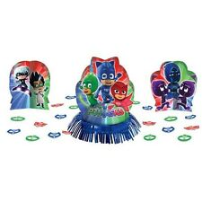 PJ MASKS TABLE DECORATING KIT (23pc) ~ Birthday Party Supplies Centerpiece