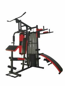 Home Multi Station Gym Full Workout Weight Stack include punch bag free delivery