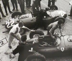 1960 Monaco Grand Prix FERRARI Dino 246 156P 1st REngine J Alexander Photo Print