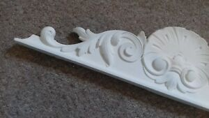 A large traditional french style door / window pediment frame architrave 61cm