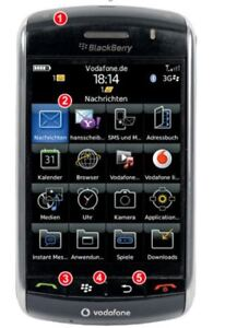 THB Bury Uni 9 Active Blackberry 9500   0-02-37-1071-0