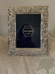 PEDRO DURAN Sterling Silver 925 Ornate Photo Picture Frame Stamped/ Spain
