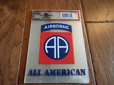 U.S ARMY 82ND AIRBORNE WINDOW DECAL BUMPER STICKER OFFICIAL ARMY PRODUCT