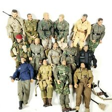 Ultimate soldier 21st century toys 1/6 Lot 15 Figures Uniforms and Accessories