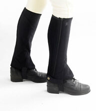 Hy Clarino Adults Half Chaps,All Sizes ,Black or Brown, In Stock