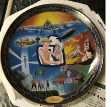 The Disney Collection Porcelain Atlantis Bradford Exchange Collector Plate