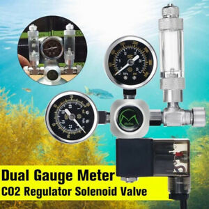 CO2 Regulator Magnetic Solenoid Check Valve Aquarium Bubble Counter W21.8 Tools