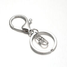 Lady Luck3: Iron Key Clasps with Alloy Lobster Claw Clasps and Swivel Clasps Pla