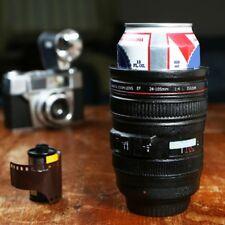 Beer Can Foam Cooler Digital Camera Zoom Lens Holder + 1 Million Novelty Bill
