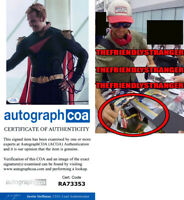 """ANTONY STARR signed """"THE BOYS"""" 8X10 PHOTO C - EXACT PROOF - Homelander ACOA COA"""