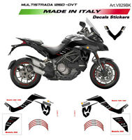 Kit adesivi Mission Winnow Black - Ducati Multistrada 1260