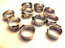 LPG Autogas KME 10 x Schlauchschellen Klemmschellen 1-Ohr Stufenlos 13,3mm