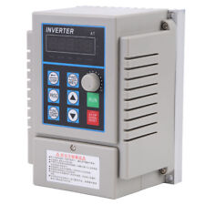 AC 220V 1HP 0.75KW Single Phase To 3/Three Phase Output Frequency Converter VFD