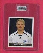 2007-08 PANINI BUNDESLIGA FUSSBALL #421 MANUEL NEUER  rookie RC