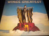 Wings Greatest - Vinyl Record LP Album - PCTC 256 - 1978 - Paul McCartney
