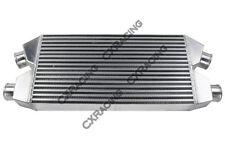 CXRacing Twin Turbo Intercooler For Nissan 300ZX Audi S4 30x11.25x3  Bar & Plate