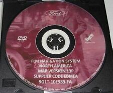 2015 Ford Lincoln Mercury 13P Navigation GPS Road Map System Update DVD