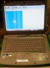 NOTEBOOK ACER 5720g PC 15 2gb ram hhd 160 gb