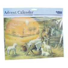 Christmas Countdown Advent Calendar - 24 Windows - 390401 Nativity