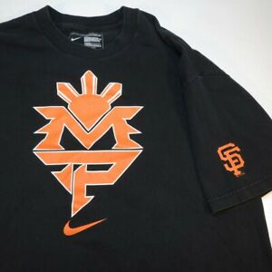 NIKE MANNY PACQUAO BOXING SAN FRANCISCO GIANTS MLB BASEBALL TEE T SHIRT Sz XL