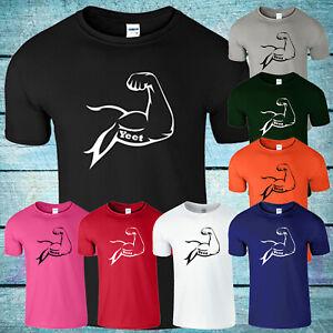 Yeet Mens T Shirt LazarBeam Youtuber Gamer Gym Muscles Workout Kids Boys Tee Top