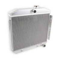 3 Row/Core Aluminum Radiator For 1955-1957 55 56  57 CHEVY BEL AIR 6CYL 4.3 4.6