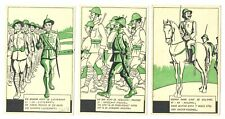 NETHERLANDS 1940 - 6 x SPEC MILITAIR CARD -DUTCH ARMY - MOBILISATIE --VF
