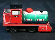 Daiya Tin Train Friction Motor 1960s ~ Tin Litho ~ Japan ~ 753 Vintage