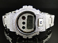 New G-Shock/G Shock Mens Simulated Diamond Watch Joe Rodeo Jojino Kc 10 Ct