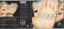 Creed - Don't Stop Dancing [Single] (Post-Grunge) (CD, Oct-2002, Wind (Label #1