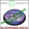 [XGD3] 10-Pack Verbatim DVD+R DL MKM-003 → Xbox 360 IhAS124b Dual / Double Layer