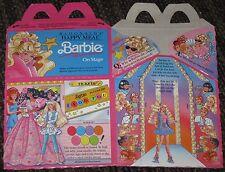 1991 McDonalds Happy Meal Box - Barbie - RARE