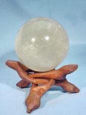 """BUTW 2.5"""" smokey quartz sphere lapidary wicca 9069A"""