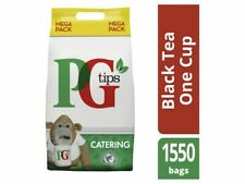 PG Tips 1550 una taza de catering Bolsitas De Té + entrega gratis de 24h