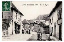 (S-91772) FRANCE - 38 - ST ANDRE LE GAZ CPA CAFE MARGAND A GAUCHE DU CLICHE