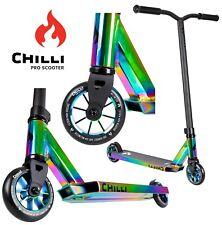 Chilli Pro Base Rocky Stunt-scooter Roller Regenbogen oilslick rainbow neochrome