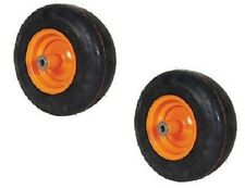 2-NEW ORANGE AIR TIRES FOR SCAG 481551 13X5X6 W/ ROLLER BEARINGS TIGER CUB SABRE