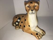 "vintage k's collection ceramic cheetah 4"""