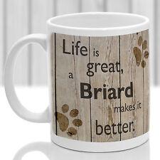 Briard chien mug, BRIARD Chien Cadeau, Idéal Cadeau Pour Dog Amant